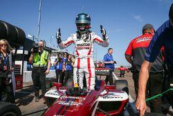 Le poleman Aaron Telitz, Belardi Auto Racing