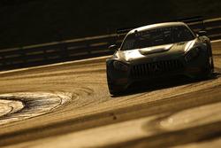 #15 Black Falcon; Mercedes AMG-GT3: Brett Sandberg, Dore Chaponik, Scott Heckert