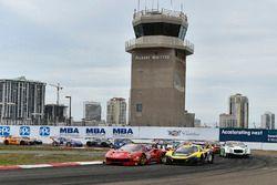 #61 R.Ferri Motorsport, Ferrari 488 GT3: Alex Riberas; #9 K-Pax Racing, McLaren 650S GT3: Alvaro Par