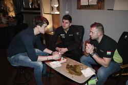 Aurelien Panis, Honda Team Zengo, Honday Civic WTCC and Daniel Nagy, Honda Team Zengo, Honday Civic