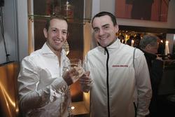 Nestor Girolami, Polestar Cyan Racing, Volvo S60 Polestar TC1 and Norbert Michelisz, Honda Racing Te