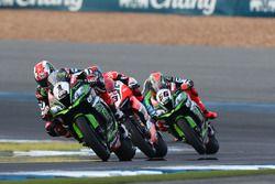 Jonathan Rea, Kawasaki Racing, Marco Melandri, Ducati Team, Tom Sykes, Kawasaki Racing