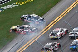 Dreher: Brennan Poole, Chip Ganassi Racing Chevrolet, Ty Dillon, Richard Childress Racing Chevrolet