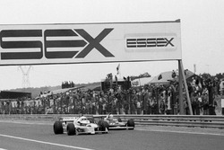 René Arnoux, Renault RS10, Jody Scheckter, Ferrari 312T4