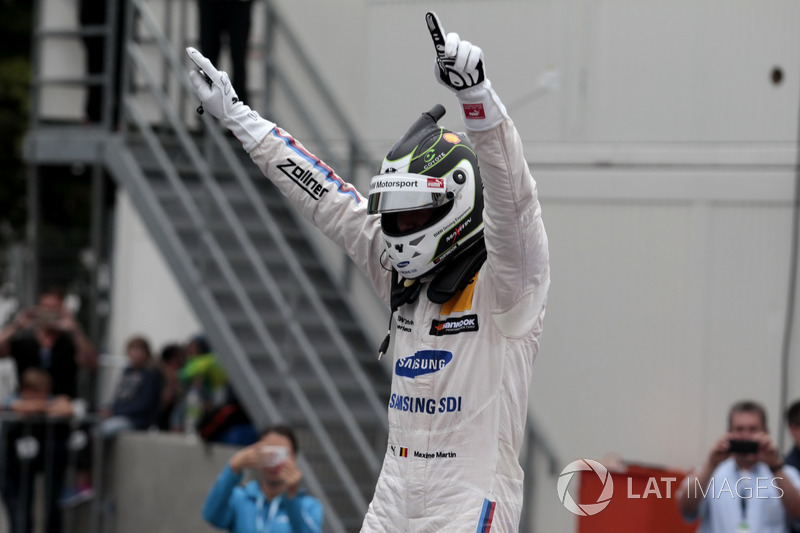 Race winner Maxime Martin, BMW Team RBM, BMW M4 DTM