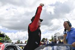 Ganador de la carrera Patrick Long, Wright Motorsports