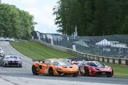 #62 Klenin Performance Racing McLaren 570S GT4: Mark Klenin, #80 Mantella Autosport KTM Xbow GT4: Martin Barkey