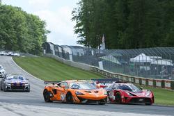 #62 Klenin Performance Racing McLaren 570S GT4: Mark Klenin, #80 Mantella Autosport KTM Xbow GT4: Ma