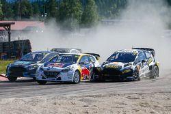 Timmy Hansen, Team Peugeot Hansen, Timur Timerzyanov, World RX Team Austria Ford Fiesta ST
