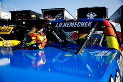 John Hunter Nemechek, SWM-NEMCO Motorsports Chevrolet helmet