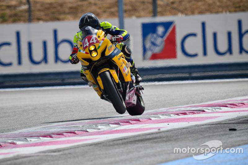 25. #44 No Limits Motor Team, Suzuki: Andrea Boscoscuro, Kevin Manfredi, Michael Mazzina