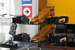 Renault Sport F1 Team RS17 nariz y ala delantera