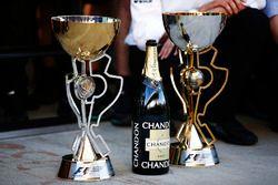 Кубки пилота Mercedes AMG F1 Валттери Боттаса за победу в Гран При России