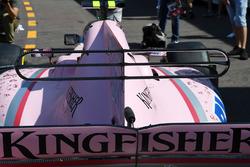Force India VJM10: Motorhaube mit T-Flügel