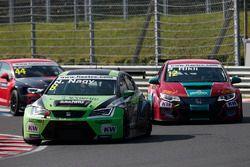 Norbert Nagy, Seat Leon TCR; Peter Rikli, Rilki Motorsport, Honday Civic TCR
