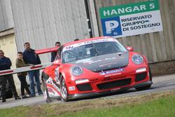 Fabrizio Ceresa, Porsche 997 GT3 Cup, Squadra Corse Quadrifoglio, 1. Essais