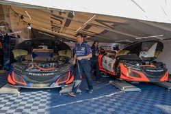 RealTime Racing Acura takım alanı