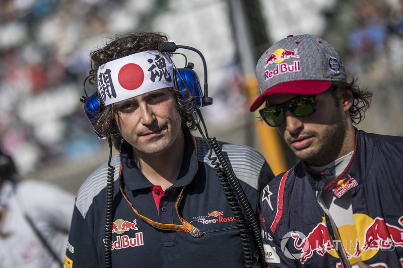 Carlos Sainz Jr., Scuderia Toro Rosso y Marco Matassa, Scuderia Toro Rosso