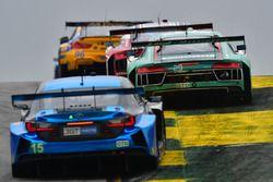 Автомобиль Audi R8 LMS GT3 №29 команды Land-Motorsport под управлением Коннора де Филиппи, Кристофер