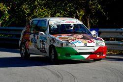 Alessandro Bondanza, Scuderia Tazio Nuvolari, Peugeot 106 Rally