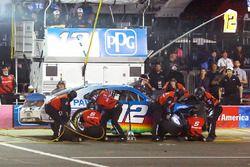 Sam Hornish Jr., Team Penske Ford pit stop