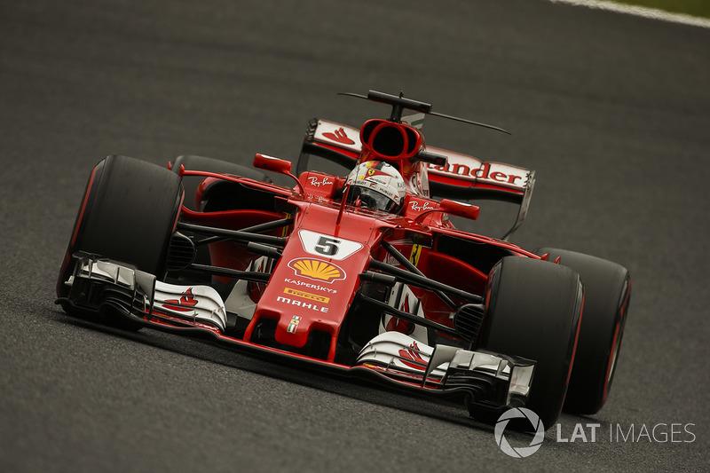 Ausfall: Sebastian Vettel, Ferrari SF70H