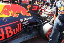 Daniel Ricciardo, Red Bull Racing RB13, dettaglio del posteriore