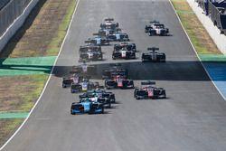 Alessio Lorandi, Jenzer Motorsport leads at the start