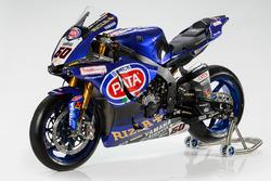 La moto de Michael van der Mark, Pata Yamaha Racing