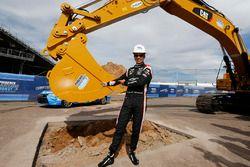 Spatenstich für Phoenix-Umbau: Helio Castroneves, Team Penske, Chevrolet