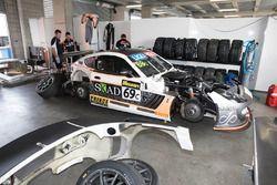 #69 Ayelzo Ecotint Racing Ginetta G55 GT4