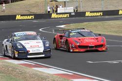 #40 Brookspeed, Porsche Cayman GT4 Clubsport: Aaron Mason, David Drinkwater, #88 Maranello Motorsport, Ferrari 488 GT3: Toni Vilander, Craig Lowndes, Jamie Wincup