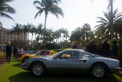 Ferrari Dinos on the Breakers lawn