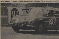 Tribune de Lausanne, Rangiers 1967, Henri Grandsire alias Michel Vaillant