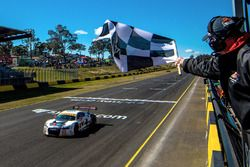 Race winner #75 Audi R8 LMS: Tim Miles, Jaxon Evans