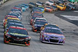 Erik Jones, Furniture Row Racing Toyota Kyle Larson, Chip Ganassi Racing Chevrolet