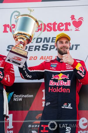 Podyum: 3. Shane van Gisbergen, Triple Eight Race Engineering Holden