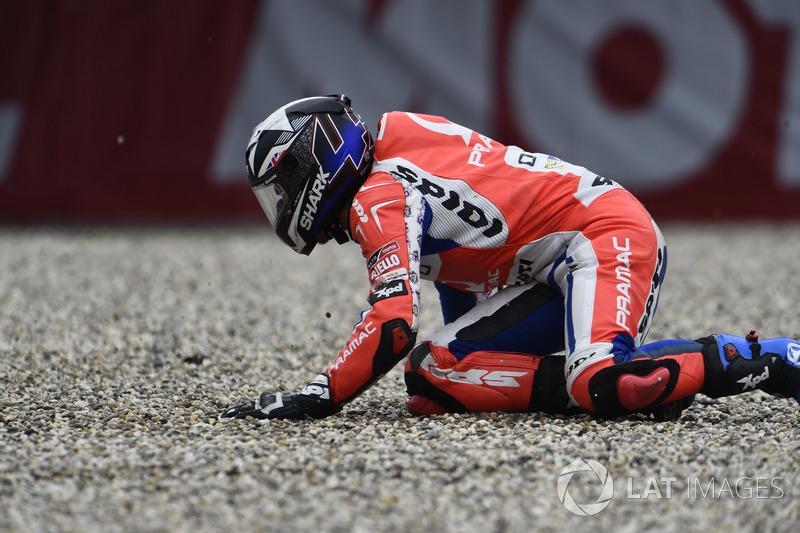 После аварии: Скотт Реддинг, Pramac Racing