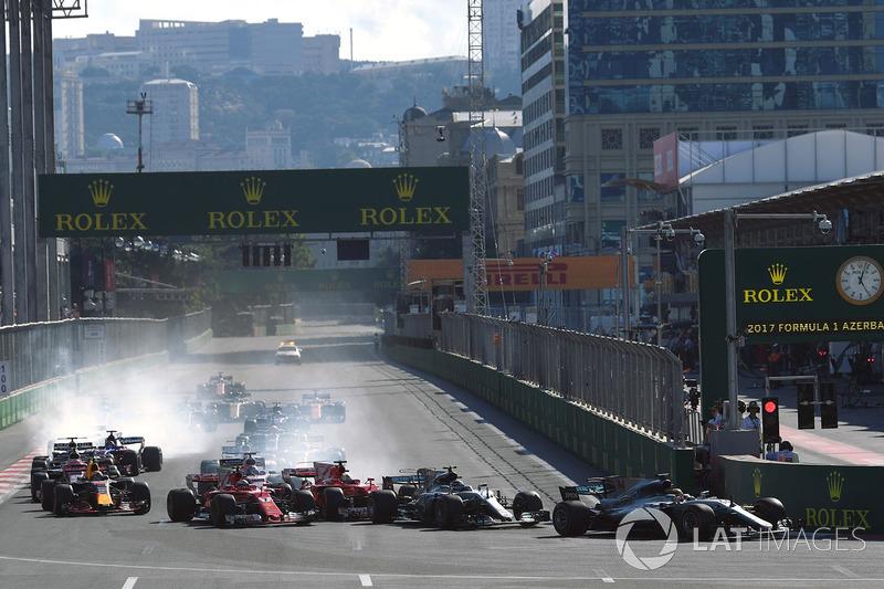 8- GP de Azerbaiyán 2017
