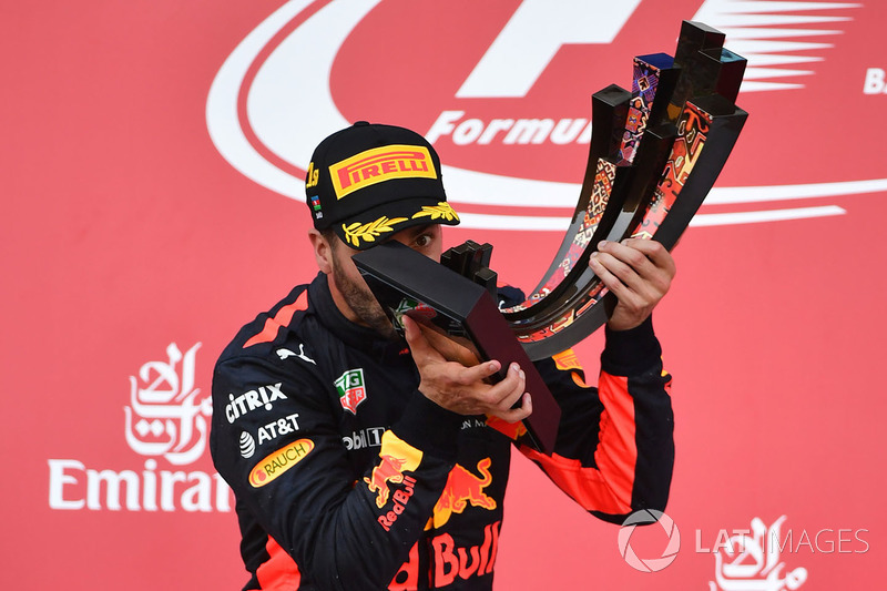 Daniel Ricciardo 223 días