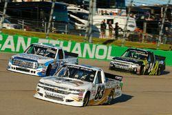 Mike Senica, Chevrolet, Ryan Truex, Hattori Racing Enterprises Toyota, Justin Haley, Chevrolet
