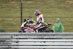 Jorge Navarro, Federal Oil Gresini Moto2, after crash
