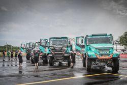 Все камионы команды Team De Rooy