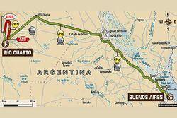 Stage 12: Rio Cuarto - Buenos Aires