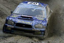 Mads Ostberg, Ole-Kristian Unnerud, Subaru Impreza WRC