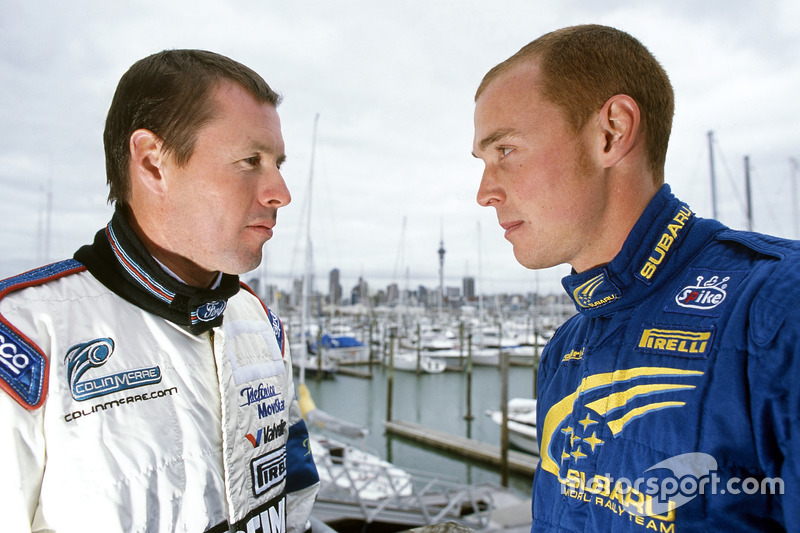 Colin McRae vs Richard Burns