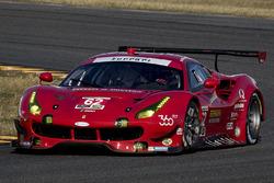 #62 Risi Competizione, Ferrari 488 GTE: Toni Vilander