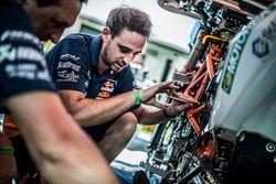 Mechaniker von Red Bull KTM Factory Racing