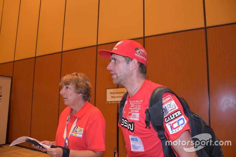 Piloto del Monster Energy Honda Team