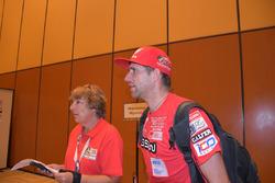 Un pilota Monster Energy Honda Team